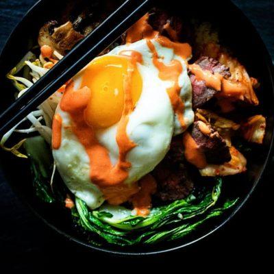 Whole 30 Korean Beef Bowl