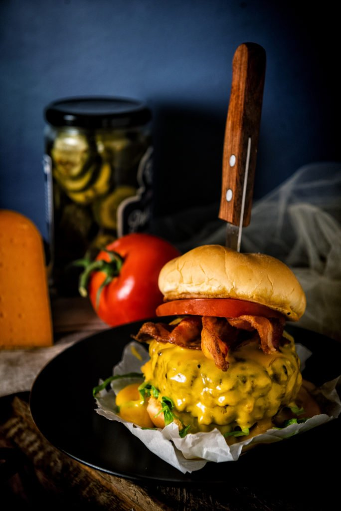 Rarebit Cheeseburger | Kita Roberts GirlCarnivore.com