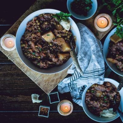 Slow Cooker Smoky Irish Lamb Stew