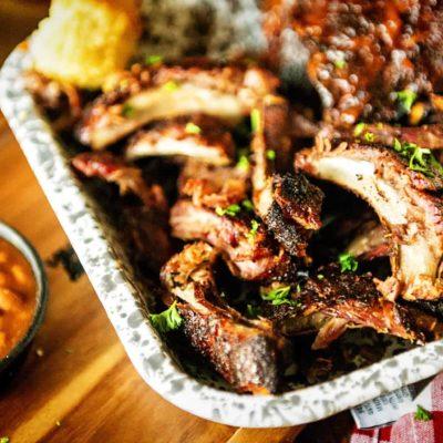 Beginner Dry Rub Smoked Pork Ribs