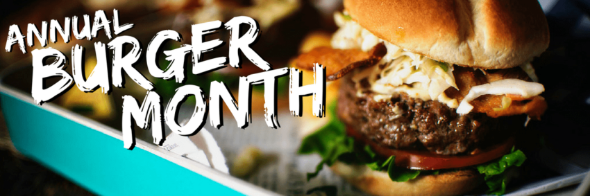 Welcome to Girl Carnivore's Annual Burger Month