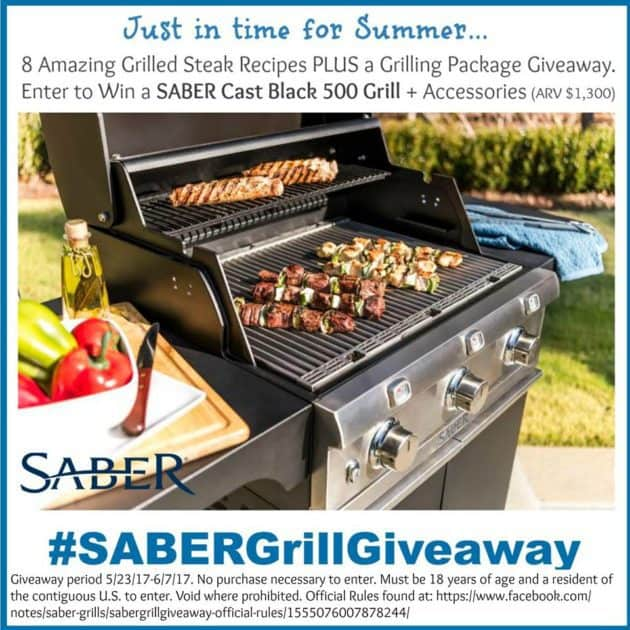 Saber Grill Giveaway