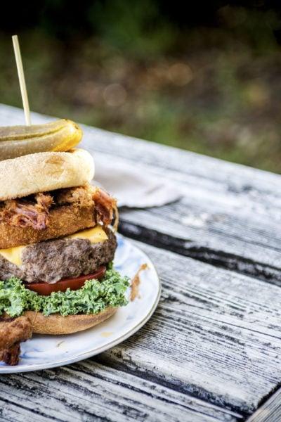 Crunchy Pork Belly Burger | Kita Roberts GirlCarnivore.com