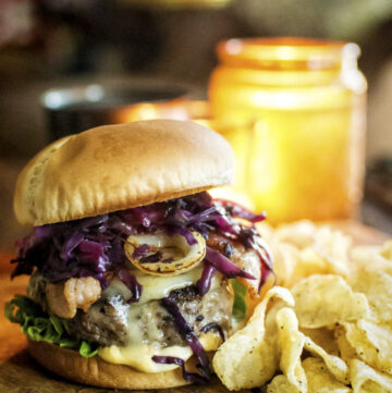 Irish Brat Burger | Kita Roberts GirlCarnivore