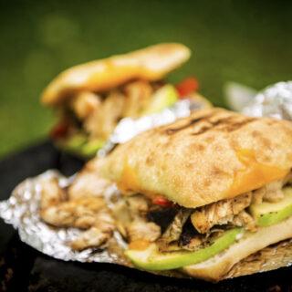Campfire Grilled Chicken Panini | Kita Roberts GirlCarnivore.com