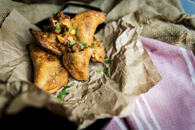 Quick Fried Tex-Mex Empanadas | Kita Roberts GirlCarnivore.com