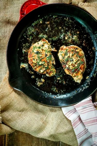 Quick Thick-Cut Pan Seared Pork Chops