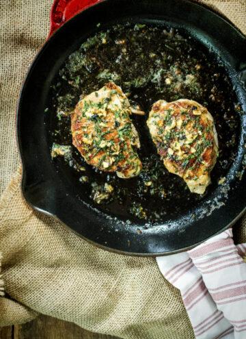 Quick Thick-Cut Pan Seared Pork Chops | Kita Roberts GirlCarnivore.com