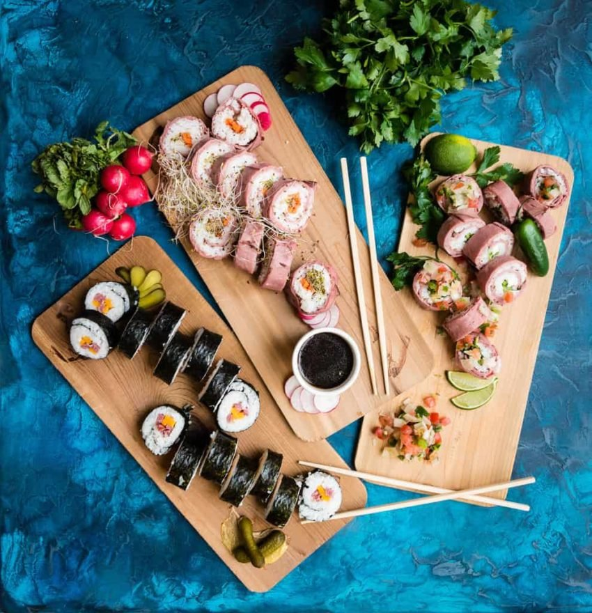 Beefshi - A new spin on Sushi - GirlCarnivore Kita Roberts