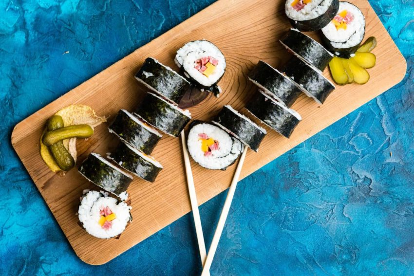 Inside-Out Wisconsin Maki Beefshi Recipe - GirlCarnivore Kita Roberts