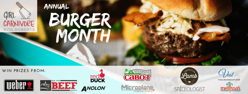 GirlCarnivores Burger Month Giveaway!