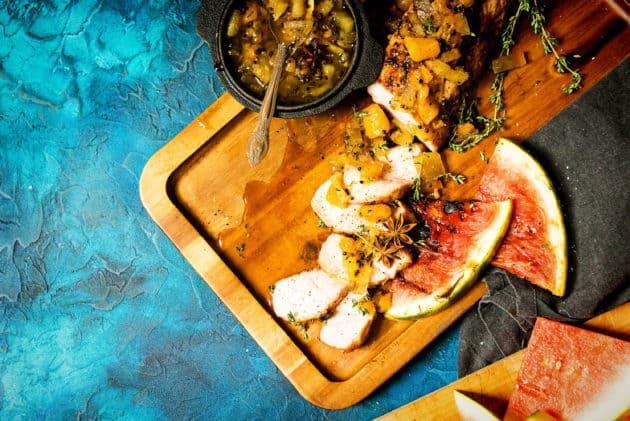 Food Network Grilled Pork Tenderloin