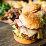 Veal Saltinbocca Burgers - Kita Roberts GirlCarnivore