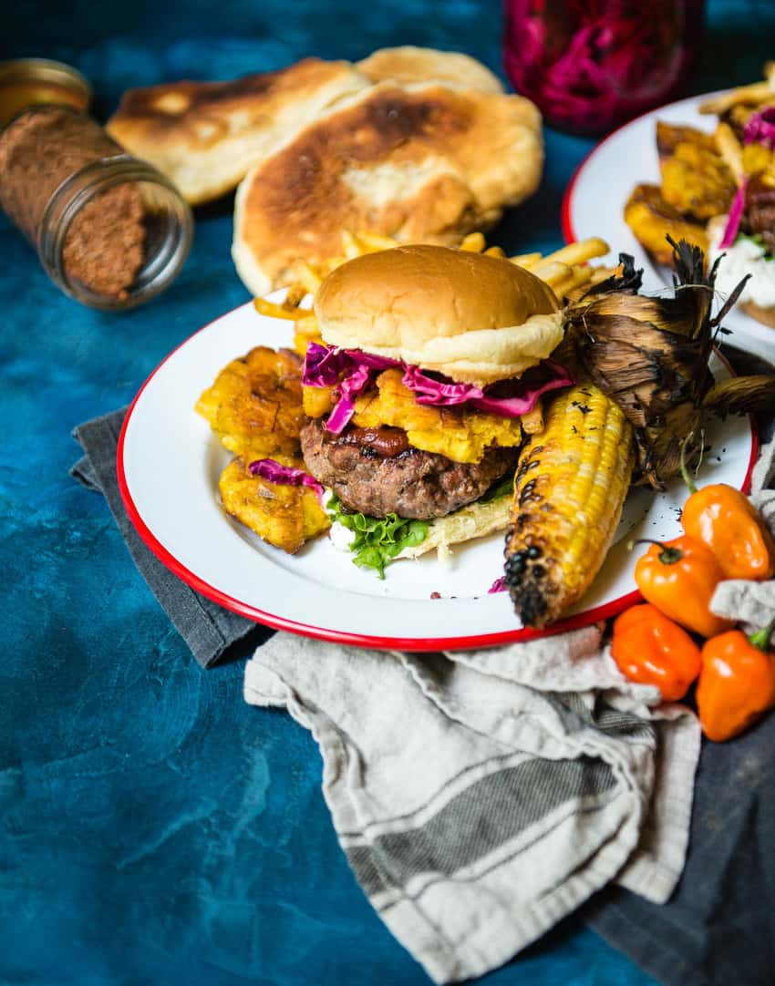 Caribbean lamb burgers recipe - Kita Roberts GirlCarnivore