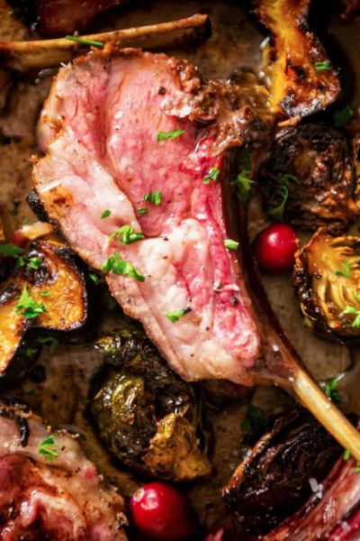 Perfect Grilled Rack of Lamb