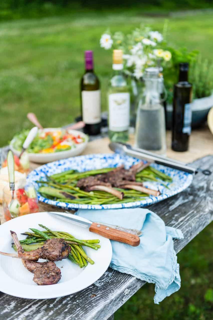 Char-grilled Lamb Chops | Kita Roberts GirlCarnivore.com