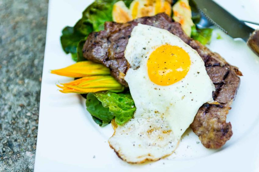 Sous Vide Steak and Eggs Recipe - GirlCarnivore