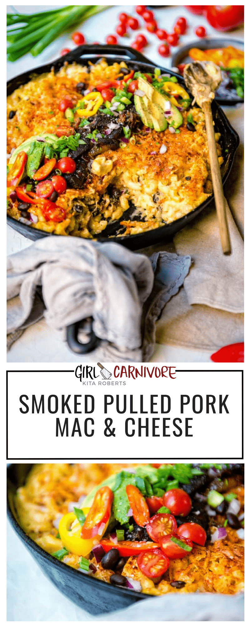 Shredded meat tossed in creamy mac and cheese and finished with that delicious smoke flavor? This Smoked Pulled Pork Mac and Cheese recipe is a must!