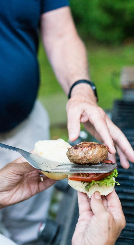 Stuffed Lamb Burgers Recipe – GirlCarnivore.com-7