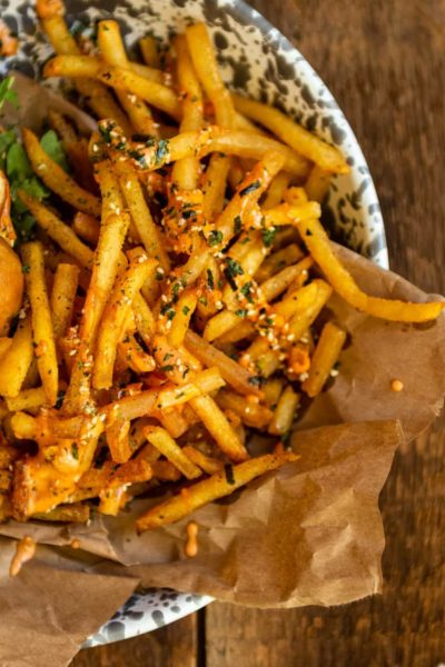 Beef Tallow Furikake Fries