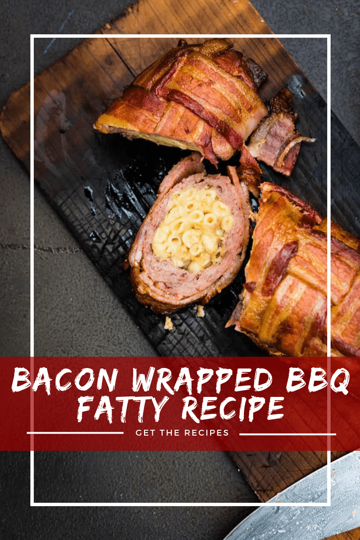Let me introduce you to the Smoked Bacon Wrapped BBQ Fatty. Yep. You read that right. And it's the best thing you will grill this weekend!