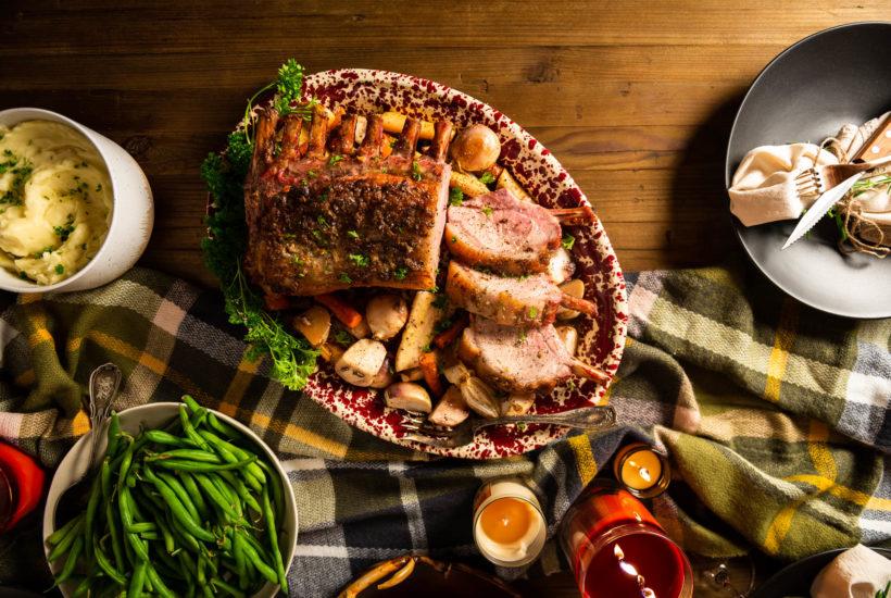 Oven Roasted Rack of Pork Kurobuta Pork Kita Roberts GirlCarnivore
