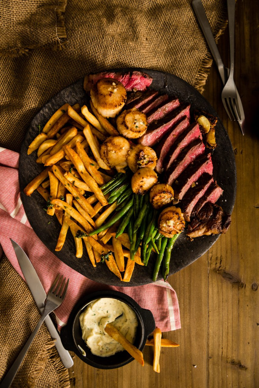 Pan Seared New York Strip Steak with Compound Butter Recipe GirlCarnivore Kita Roberts-3882