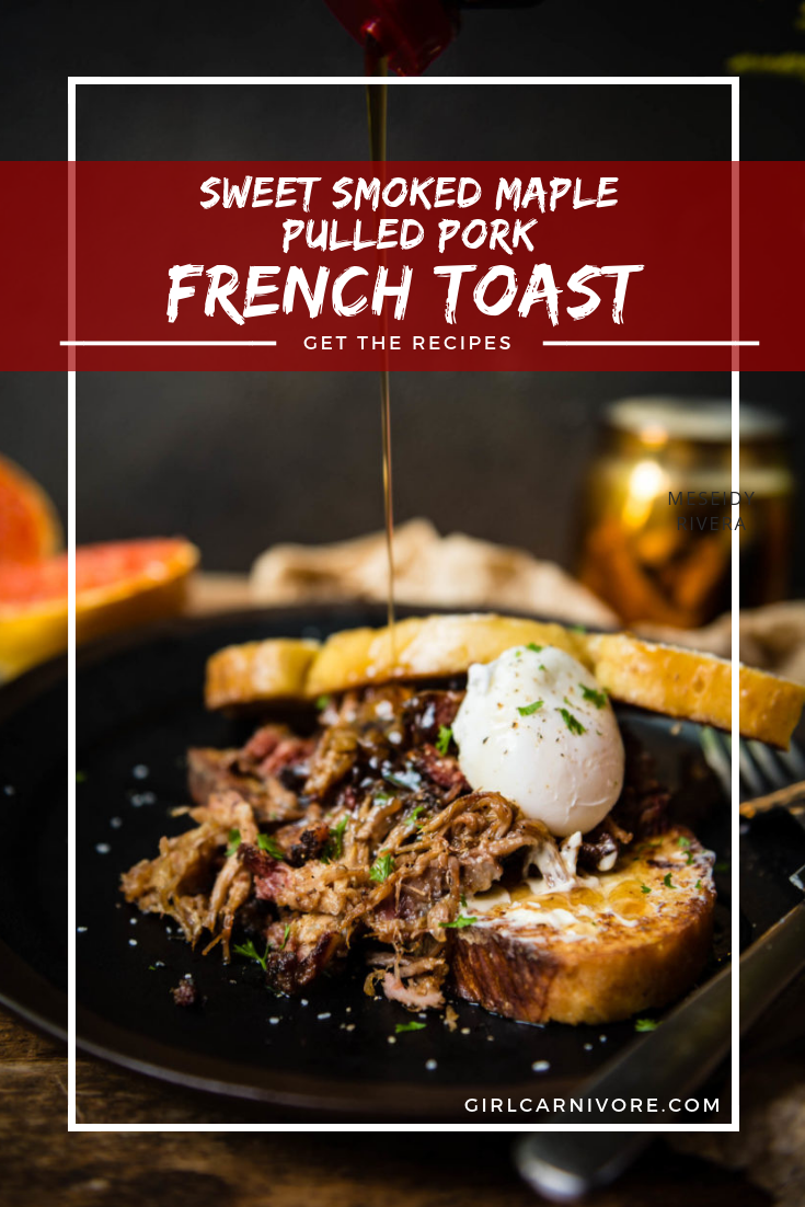 use smoked maple pulled pork to create a crazy delicious french toast recipe for your next brunch!