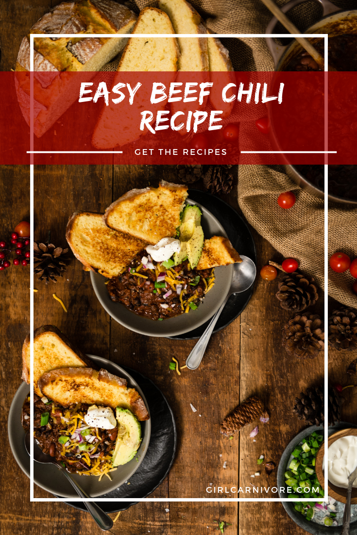 This is the BEST weeknight chili recipe. Easy Beef Chili Recipe