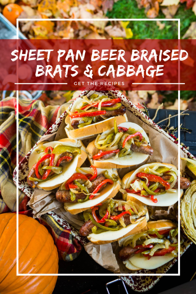 Sheet Pan Beer Brats Recipe GirlCarnivore Kita Roberts