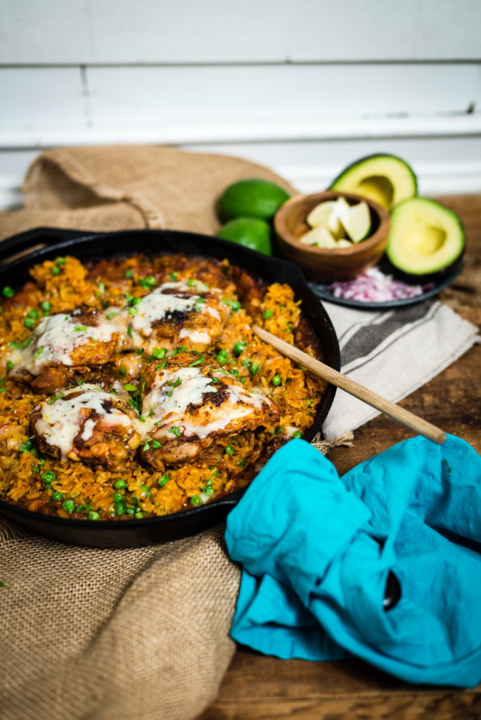 quick easy and healthy arroz con pollo recipe from girlcarnivore