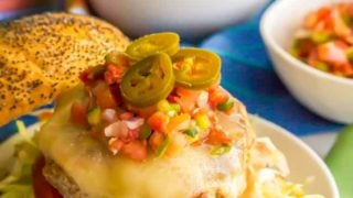 Fiesta turkey burgers - Family Food on the Table