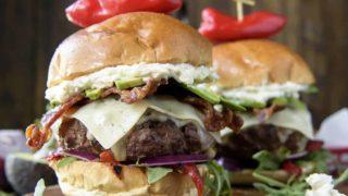 The Bettah Feta Burger