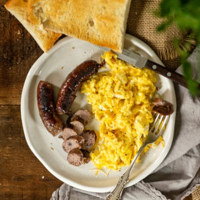 Blueberry Cheddar Breakfast Sausage recipe