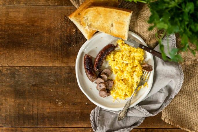 Maple Blueberry Cheddar Sausage Recipe