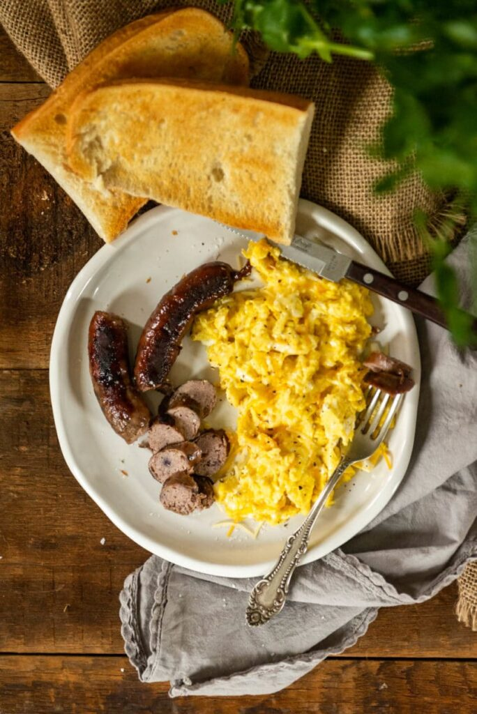Blueberry Cheddar Breakfast Sausage #brunchweek Recipe