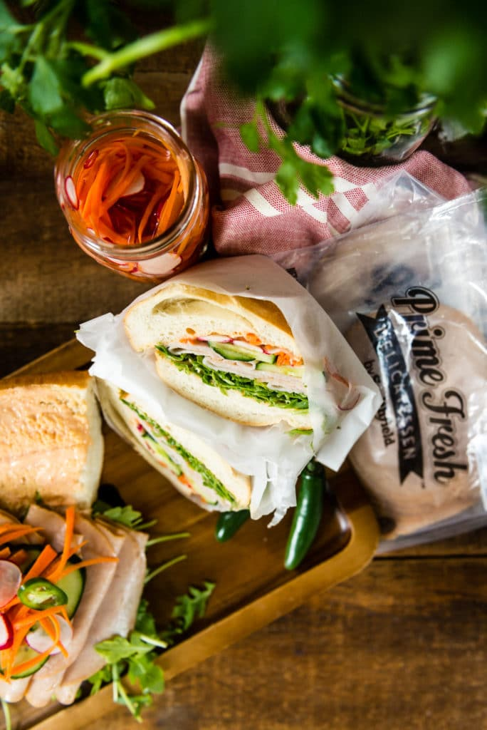 Wrap your sandwiches in parchment paper to pack for later