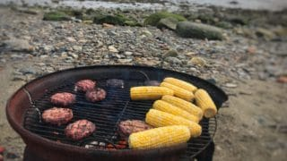 Stuffed Campfire Burger | Camping Recipes