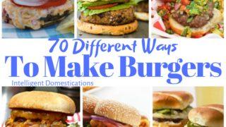 70 Burger Recipes Plus A Giveaway