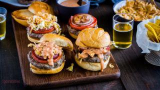 Dominican Chimichurri Hamburger - Dominican Street Food
