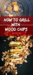 A quick intro to grilling with wood chips to infuse flavor into your burgers. GirlCarnivore.com