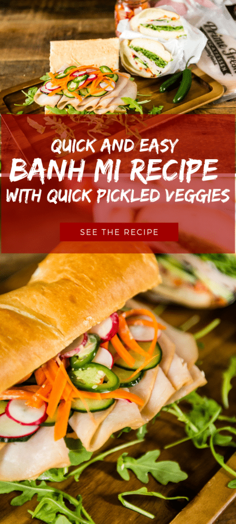 with Quick Pickled Veggies