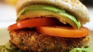 Nut Burger - Meatless Monday Meal - Vegan