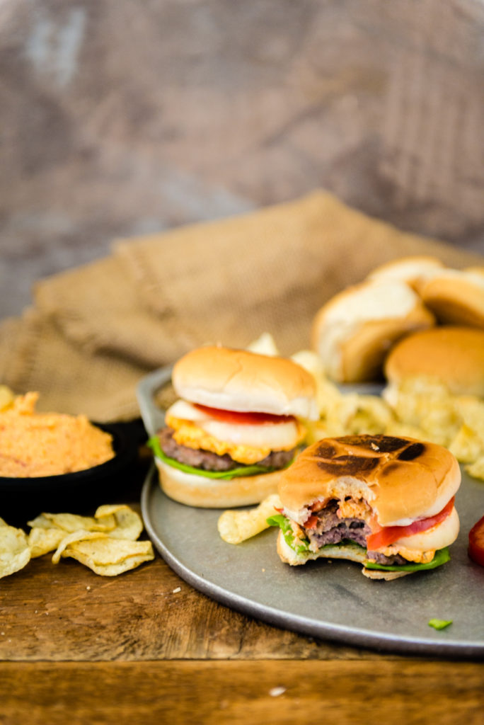 Pimento Cheese Burgers Recipe