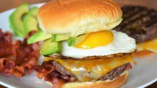 The Best Brunch Burger Recipe - Jersey Girl Cooks