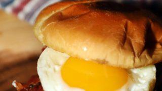 Stuffed Breakfast Burgers #BurgerMonth