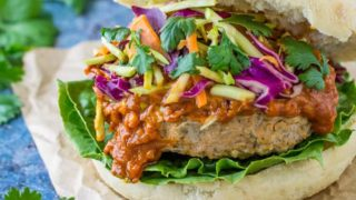 Thai Turkey Burgers: Homemade Burger Recipe
