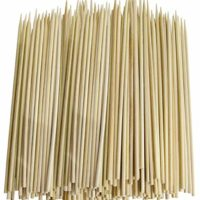 Chef Craft 3774X3 Thin Bamboo Skewers, 300 Piece