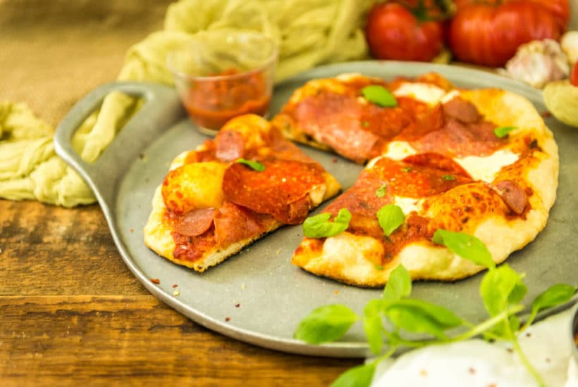 Perfect Grilled Pizza | Kita Roberts GirlCarnivore.com