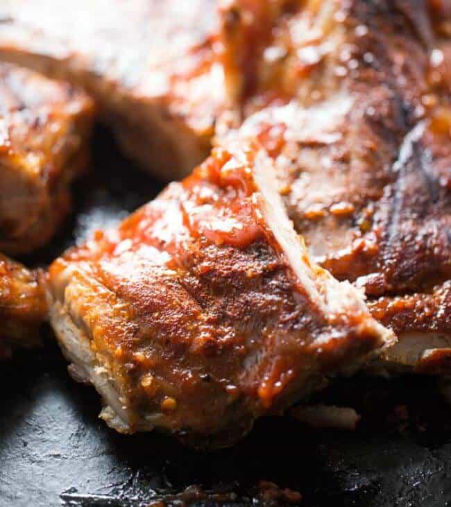 Chili Garlic BBQ Ribs Recipe